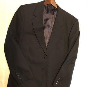 Jones NY, navy blue sportcoat.